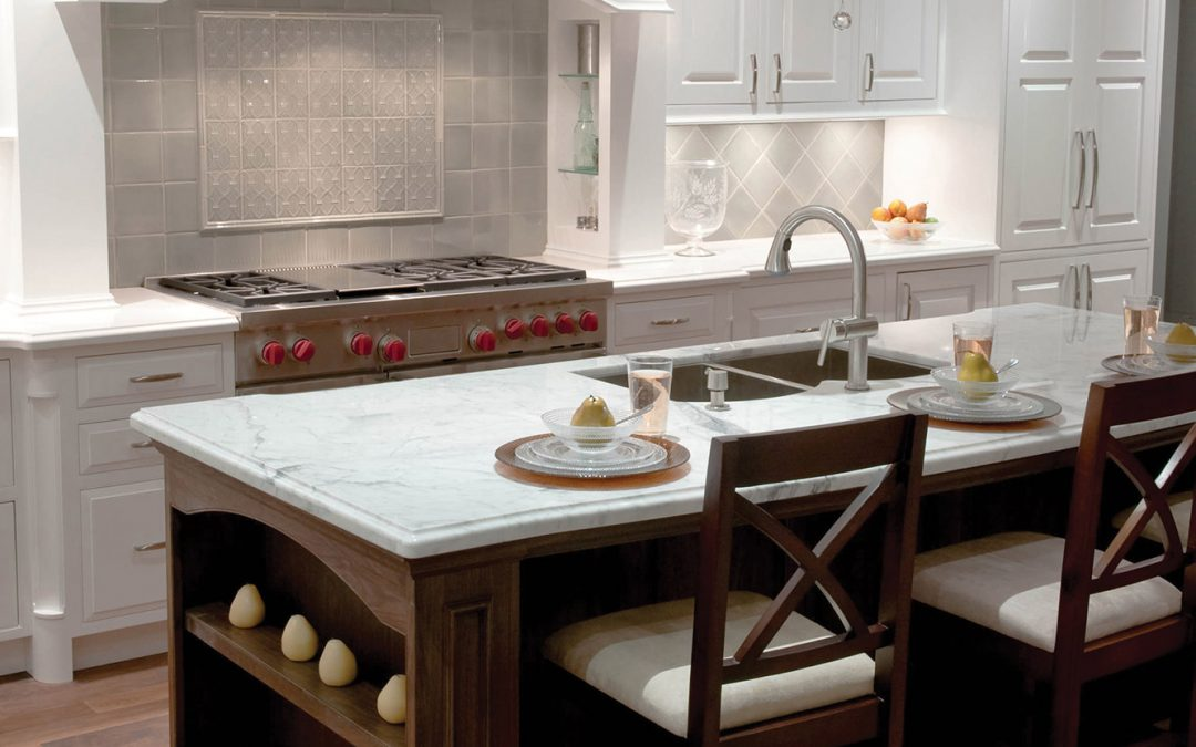 """Choosing a Backsplash to go with Your Countertop"""