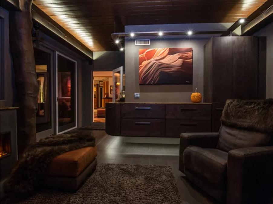 Living Room Design – Zen Den in Wayne, PA