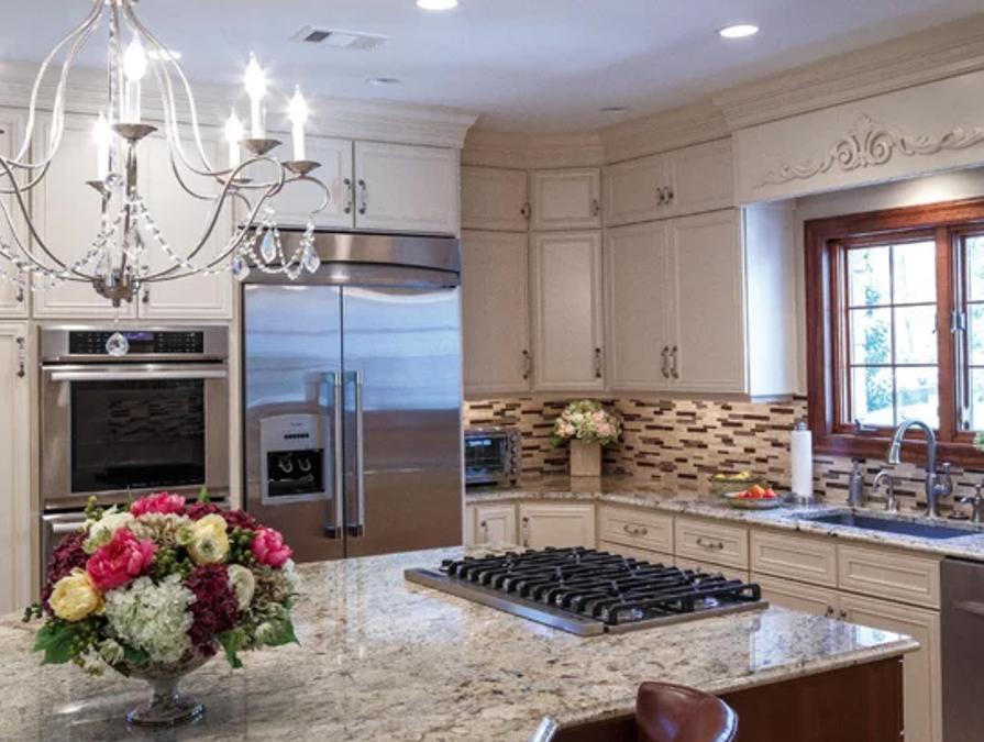 """Cream Kitchen Cabinets In Villanova, PA – """"Creamy Dreamy"""""""