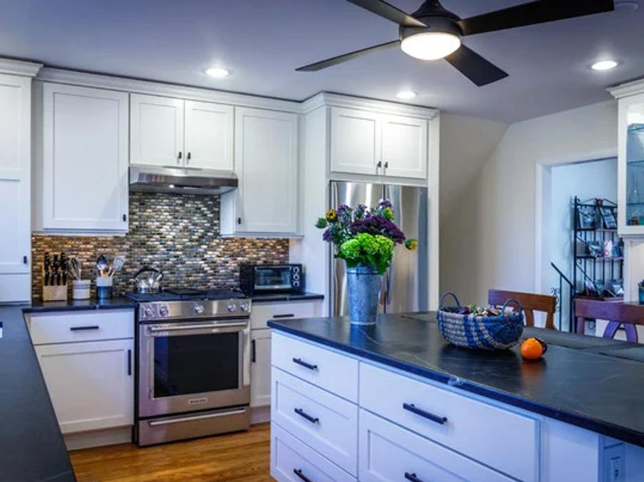 White Kitchen Cabinets in Dresher, PA