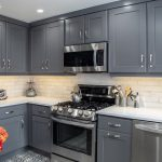 gray kitchen cabinets from Performance Kitchens & Home