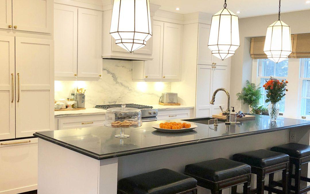 "Black & White Kitchen Designs: ""Blanc & Noir"""