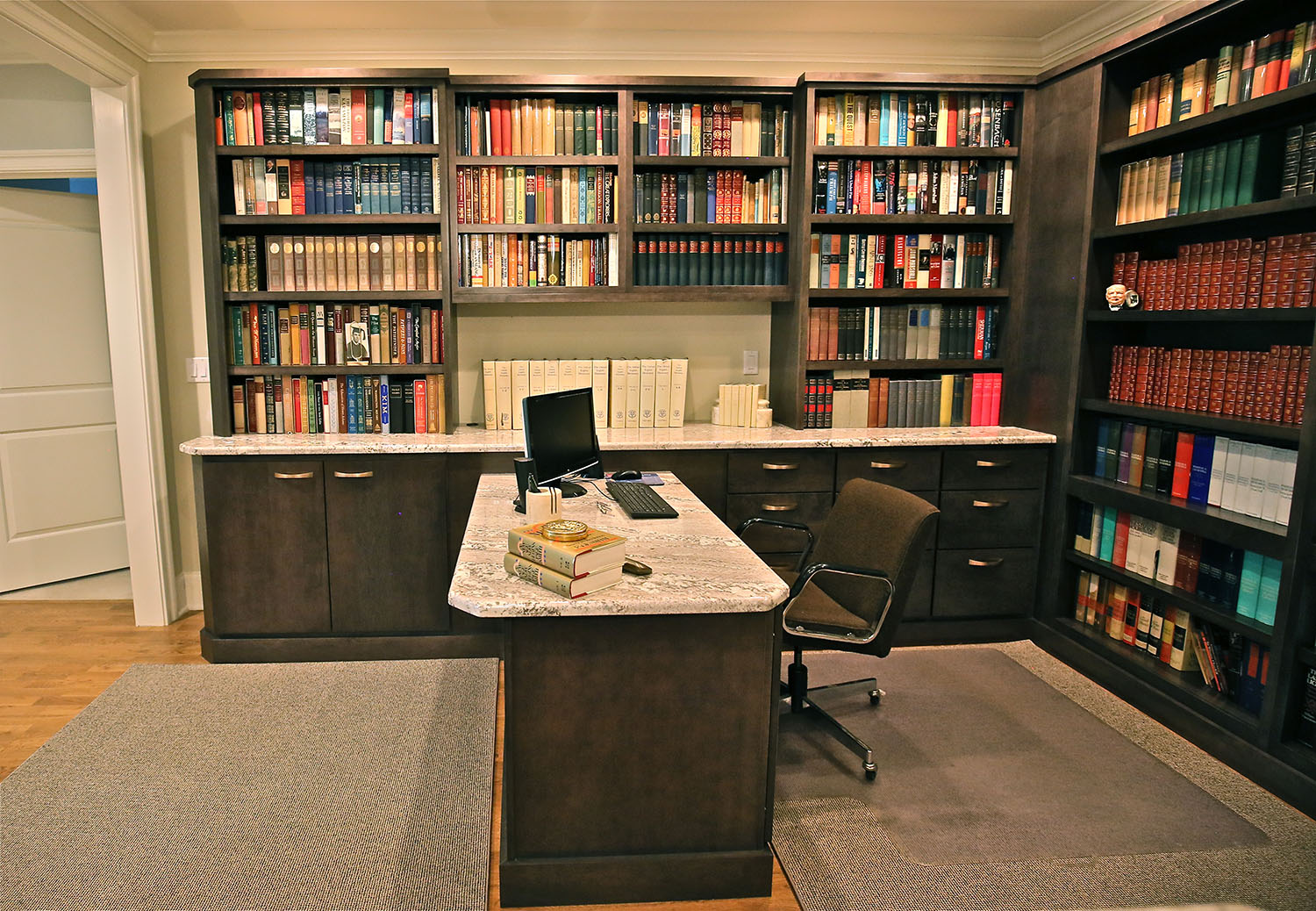 home library redesign by Performance Kitchens & Home