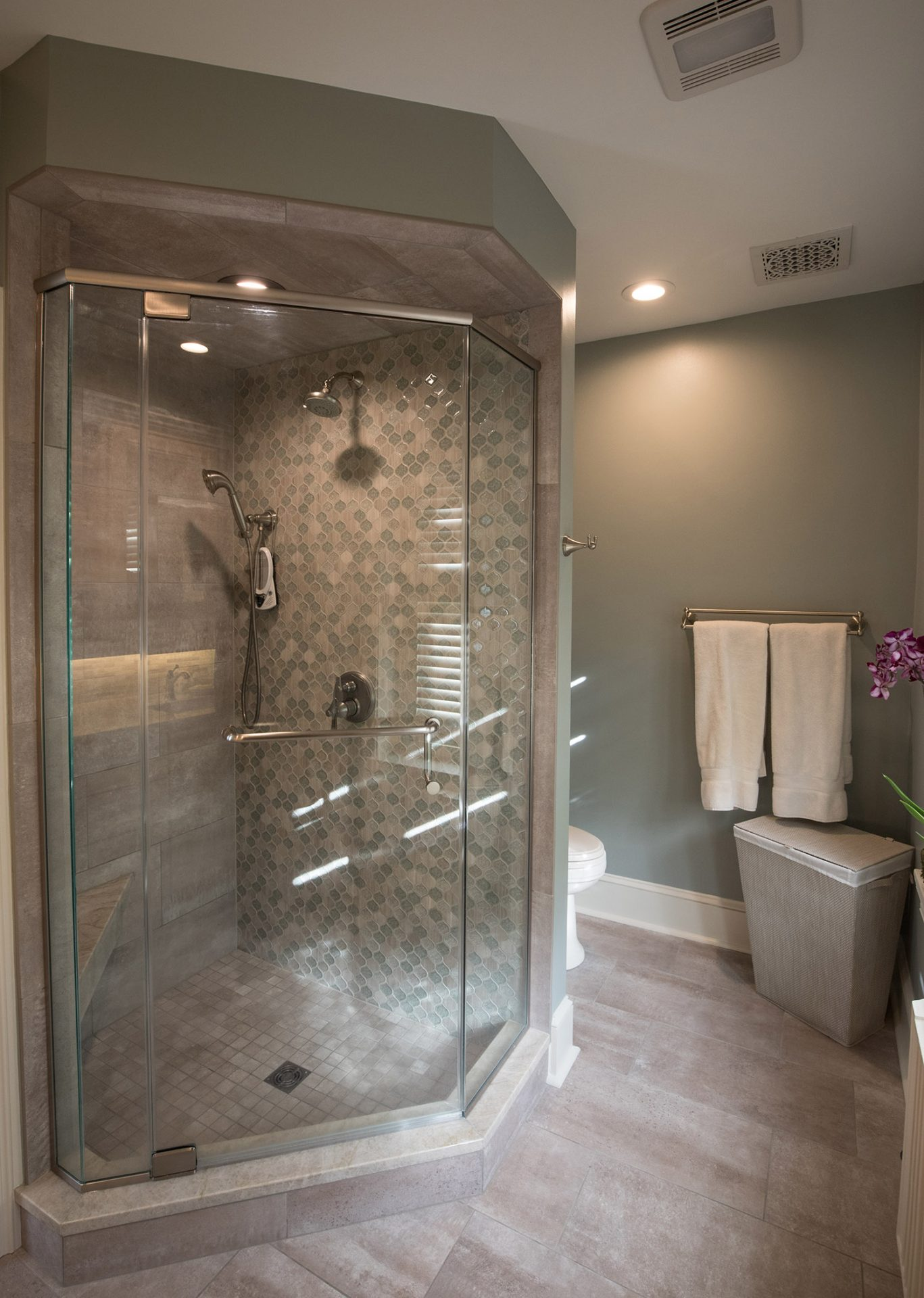 bathroom designs from Performance Kitchens