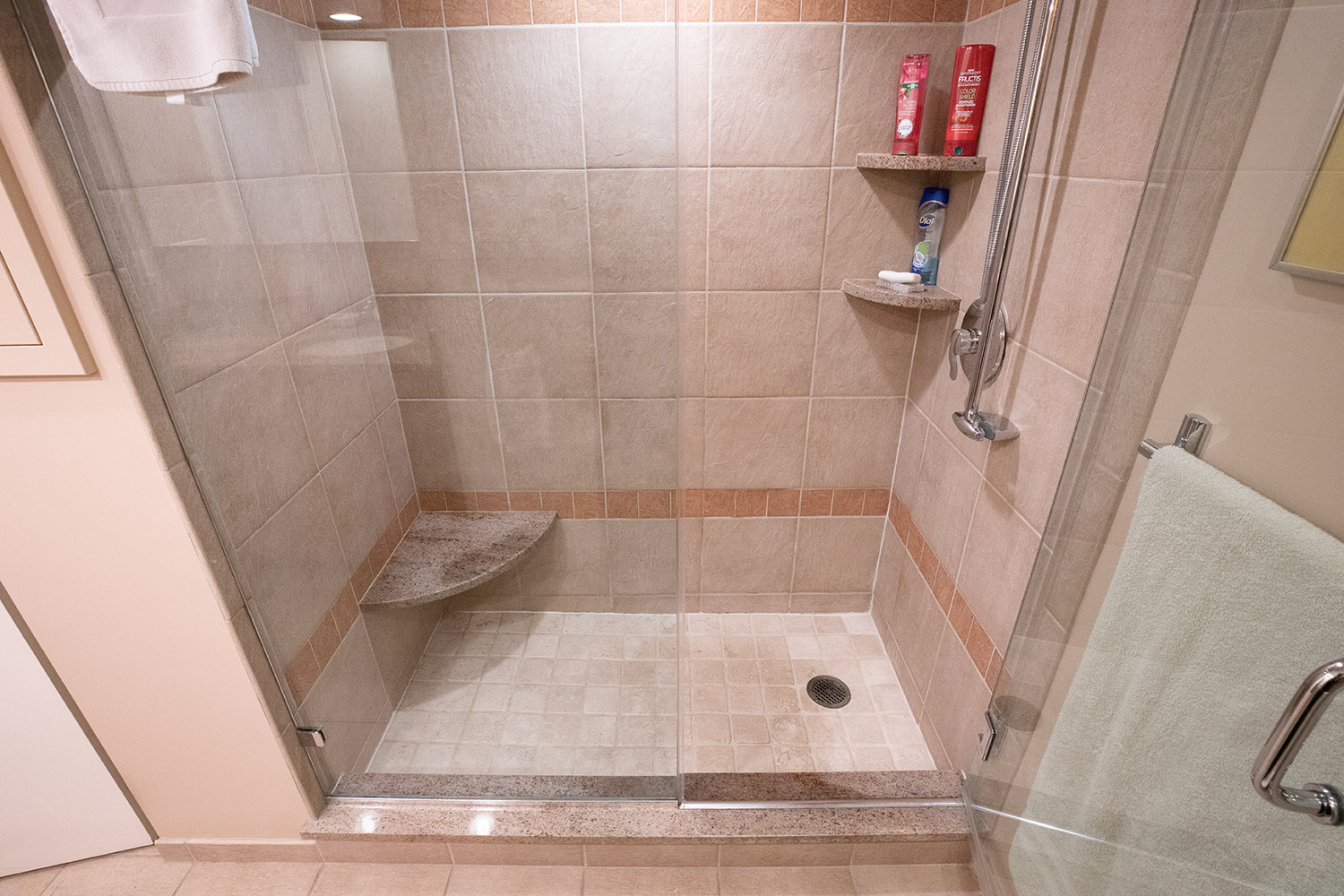 Large sized bathroom wall tiles from Performance Kitchens & Home